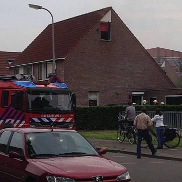 Kleine brand in schuur aan Jan Vermeerstraat