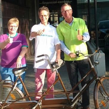 Samen op de fiets voor Voedselbank