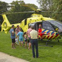Soms is er ook tijd voor de traumahelikopter