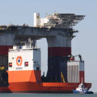Sleep- en transportmarkt voor offshore onder druk