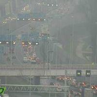 Verkeerschaos na ongeval op A4