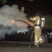 Autobranden in noord en zuid