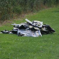 Brandweer onderzoekt gedumpte zakken