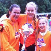 Jonge speelsters SV&HV Schiedam naar WK