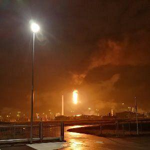 Shell-raffinaderij binnen enkele dagen in gebruik