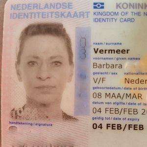 Identiteitskaart gevonden
