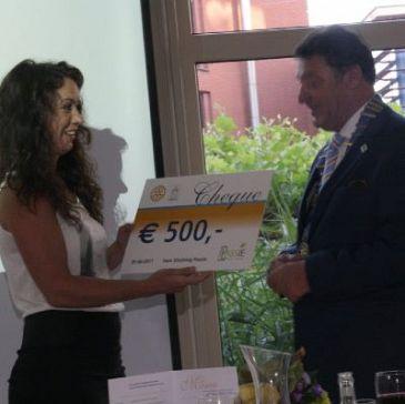 Rotary geeft Stichting Passie steuntje in de rug
