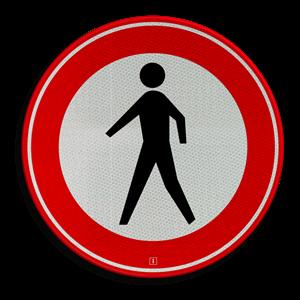 Voetganger van snelweg geplukt