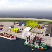 Offshore-centrum op Tweede Maasvlakte