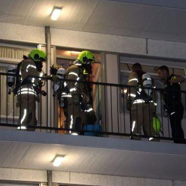 Brandweerkorpsen rukken uit voor brandje van niks
