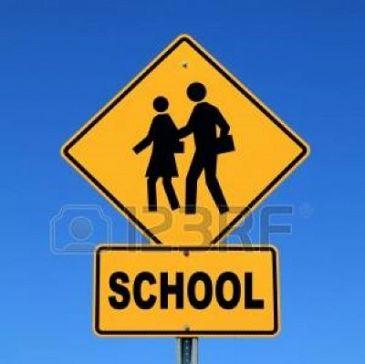 Schoolzone totaal afsluiten!