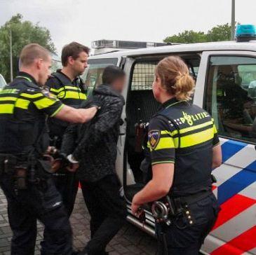 Politie wint weer achtervolging