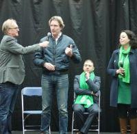 Partijen informeren kiezers in Hof van Spaland