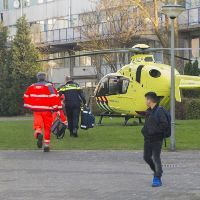Traumaheli in Oost