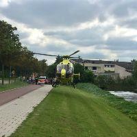 Traumahelikopter naar Gaardenpad