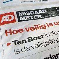 Grootste kans op overval in Schiedam