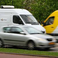 Politie controleert Schiedamse weggebruikers