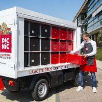 Nieuw bedrijf bezorgt boodschappen in Schiedam aan huis