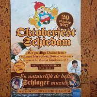 Ook Schiedam aan het Oktoberfeesten