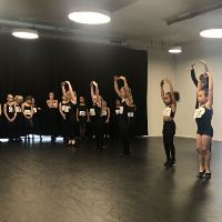Grote animo voor auditie ballet- en dansschool