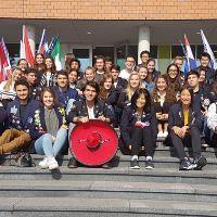 Veertig buitenlandse jonge gasten in Schiedam