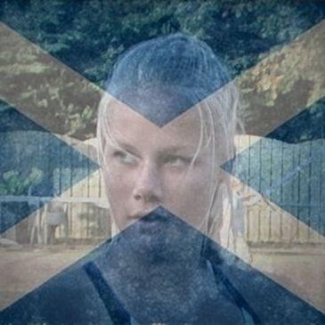 Nina Kruijer niet goed van start in Schotland