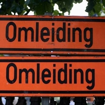 Asfalteren rotonde N241- Cornelis Blaauboerlaan