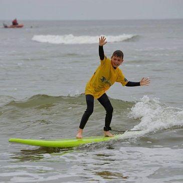 Surfen met Sportservice Schagen