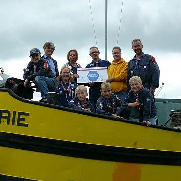 Waterscouting Vita Nova krijgt € 500 wensgeld