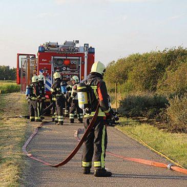 Duinbrand bij Callantsoog