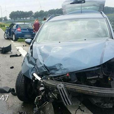 Opnieuw een ongeluk op kruising Speketersweg en Woudsmeerweg