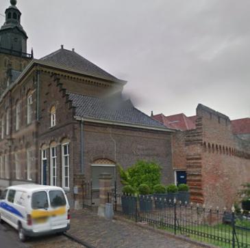 Kleine brand bij 't Schulten Hues in Zutphen