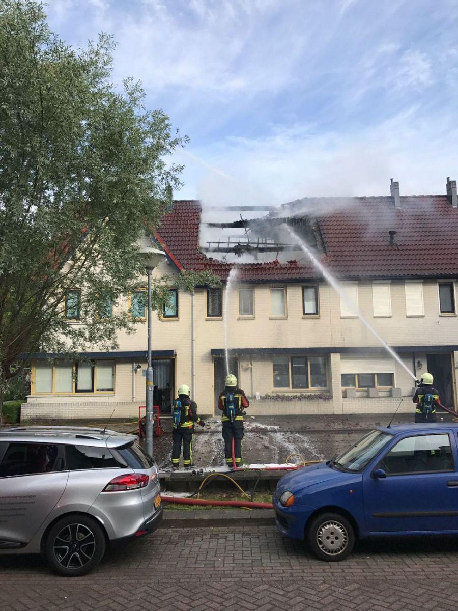 Uitslaande brand aan de bloementuin in zutphen zutphen24 for Www bloem en tuin nl