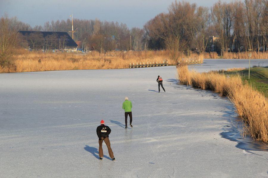 Kou in aantocht: schaatsen uit het vet!