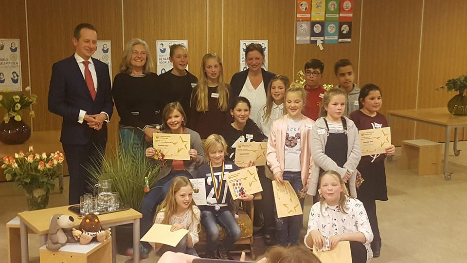 Thijs Buitendijk wint voorleeswedstrijd