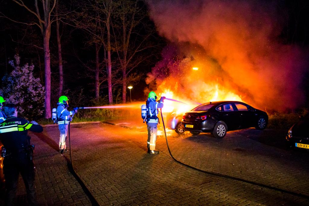 Autobranden: tweemaal raak vannacht!