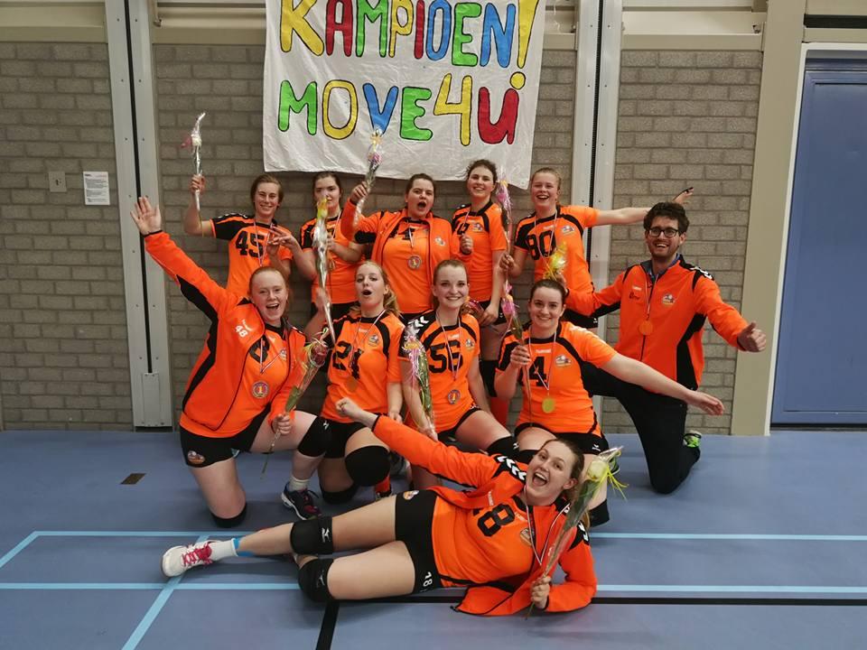 Meiden Move4U volleybalkampioen!