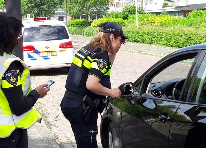 Verkeerscontroles in Vlaardingen