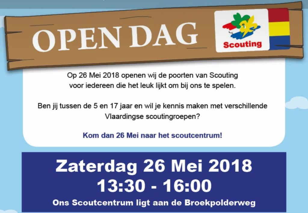Open dag scouting