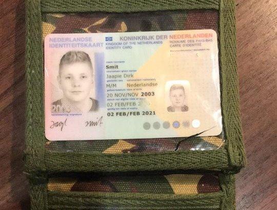 Portemonnee met pasjes gevonden