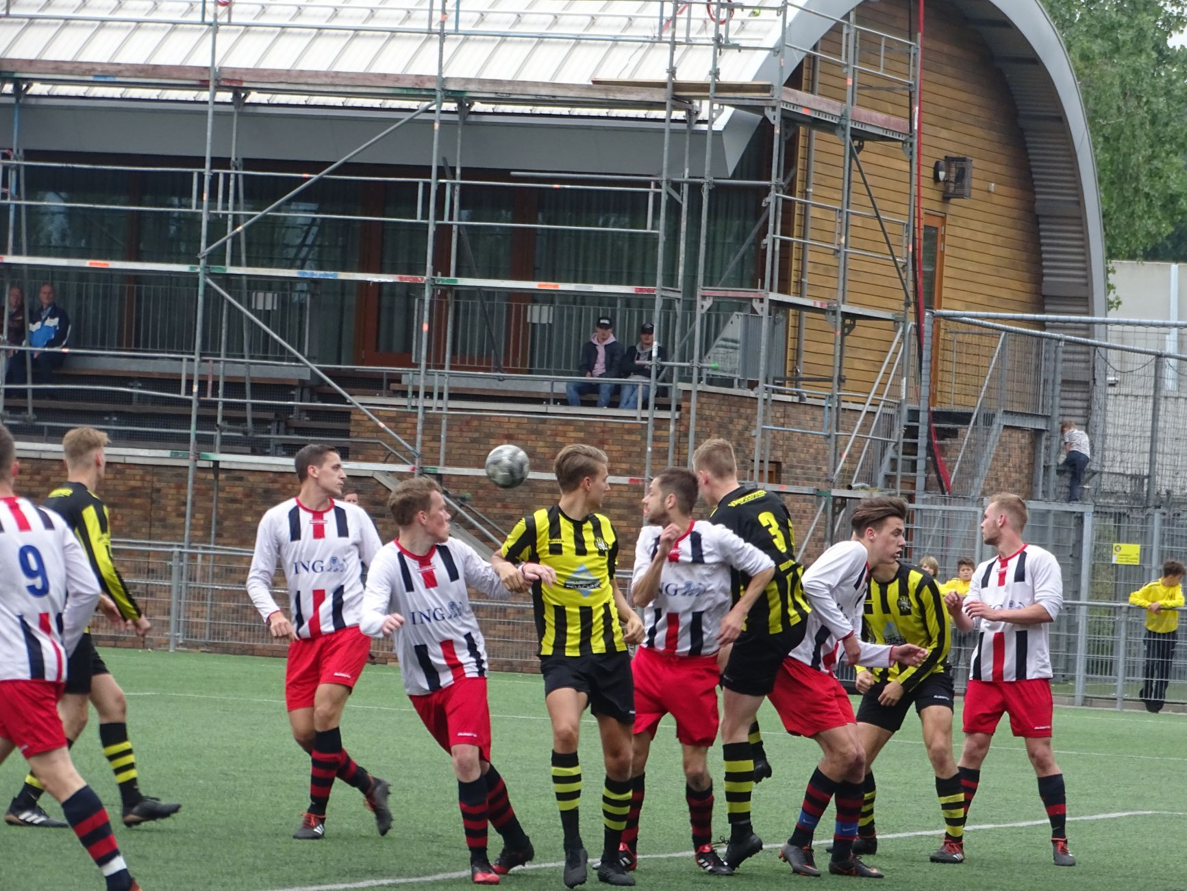 Gelijkspel in Vlaardingse derby