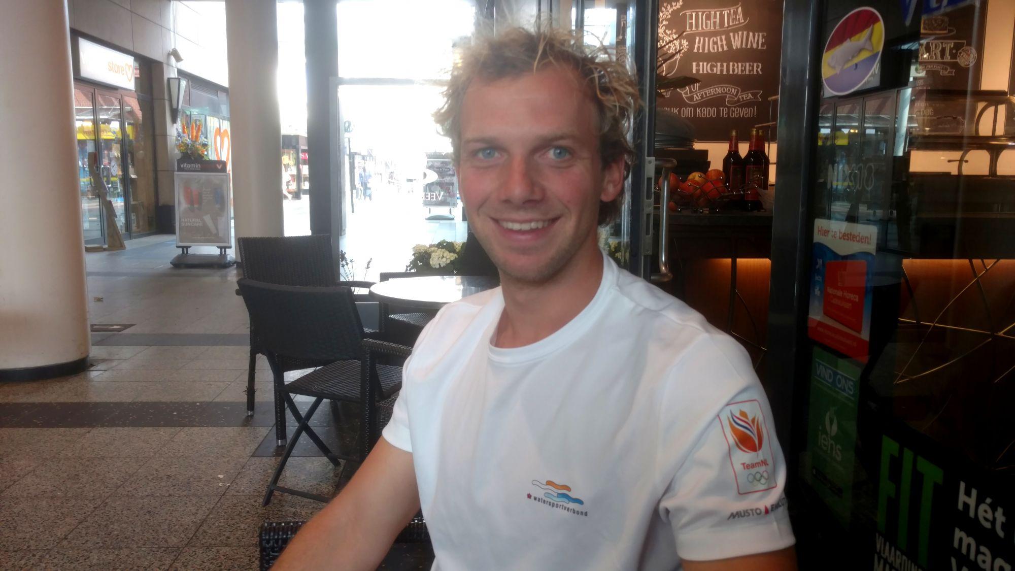 Pim van Vugt gaat voor Olympische droom