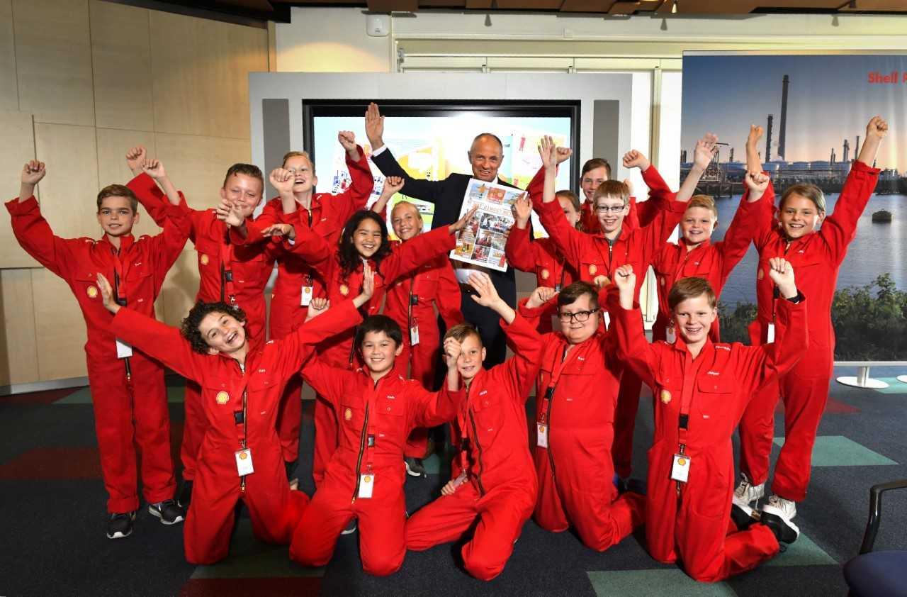 Shell Kinderraad: Supertof jaar!