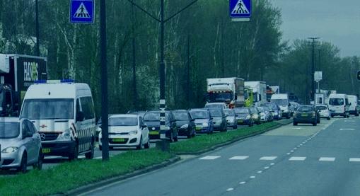 Honderd stuks extra vrachtwagens over Marathonweg