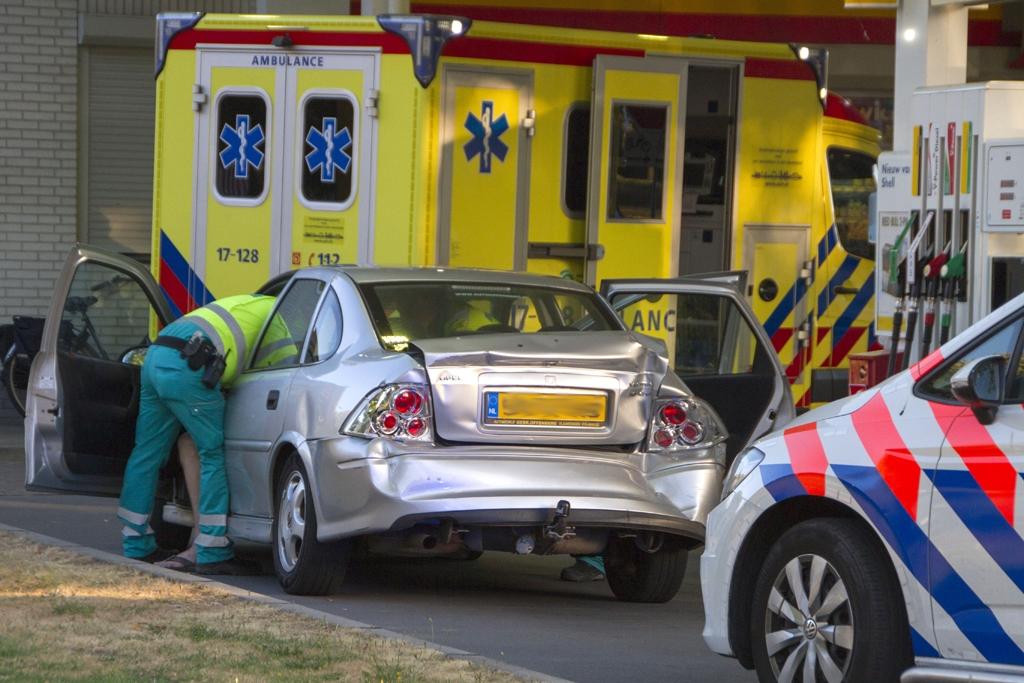 Ruzie eindigt in verkeersongeval met gewonde