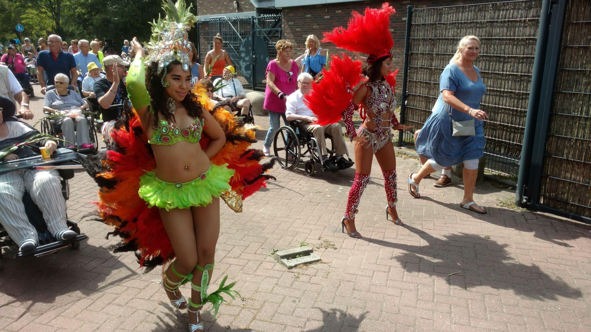 Via Gladiola voor deelnemers rolstoelvierdaagse!