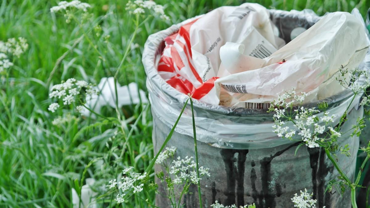 Boetes voor achterlaten afval