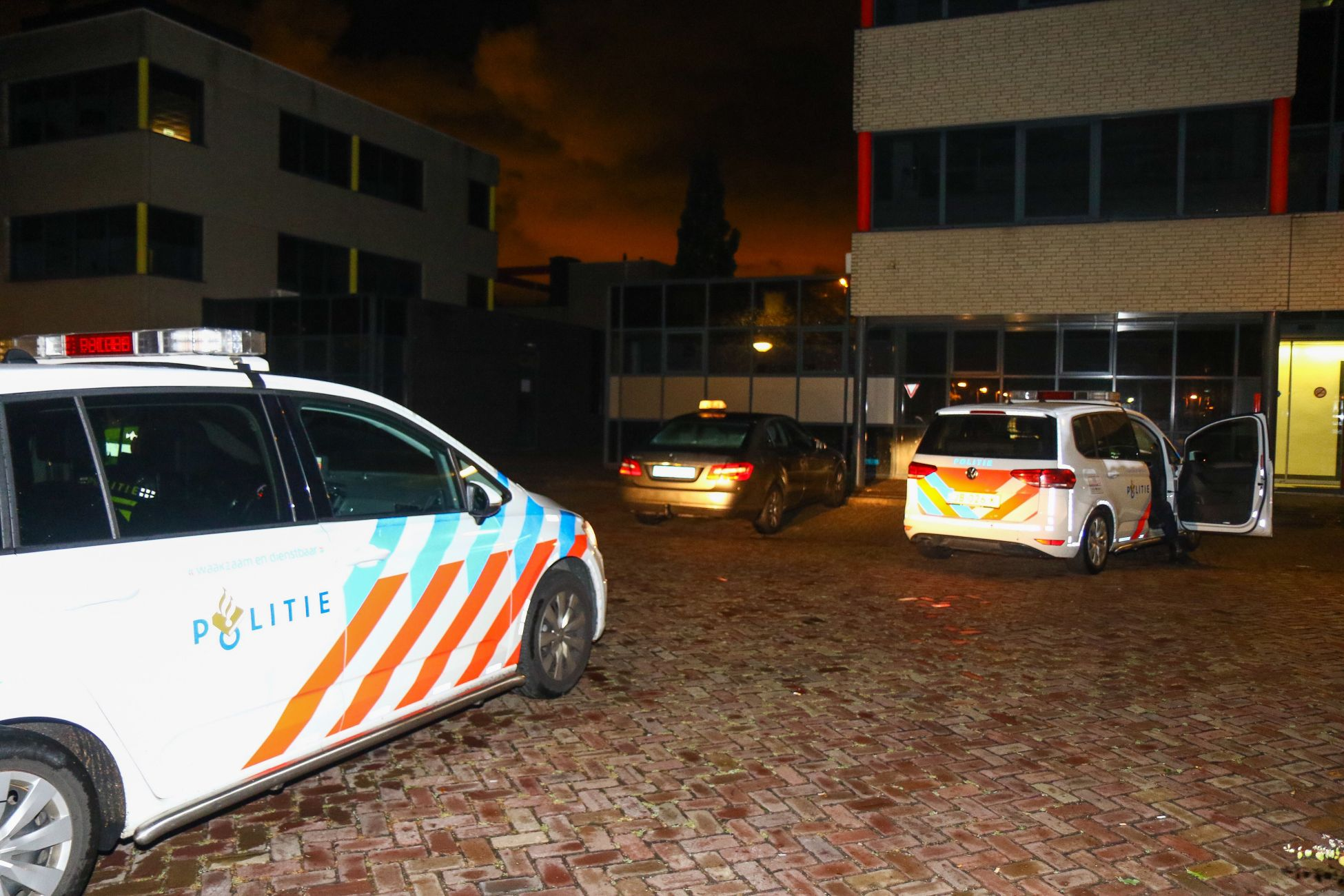 Taxichauffeur overvallen