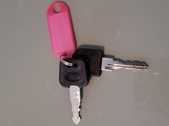 (Fiets)sleutels gevonden