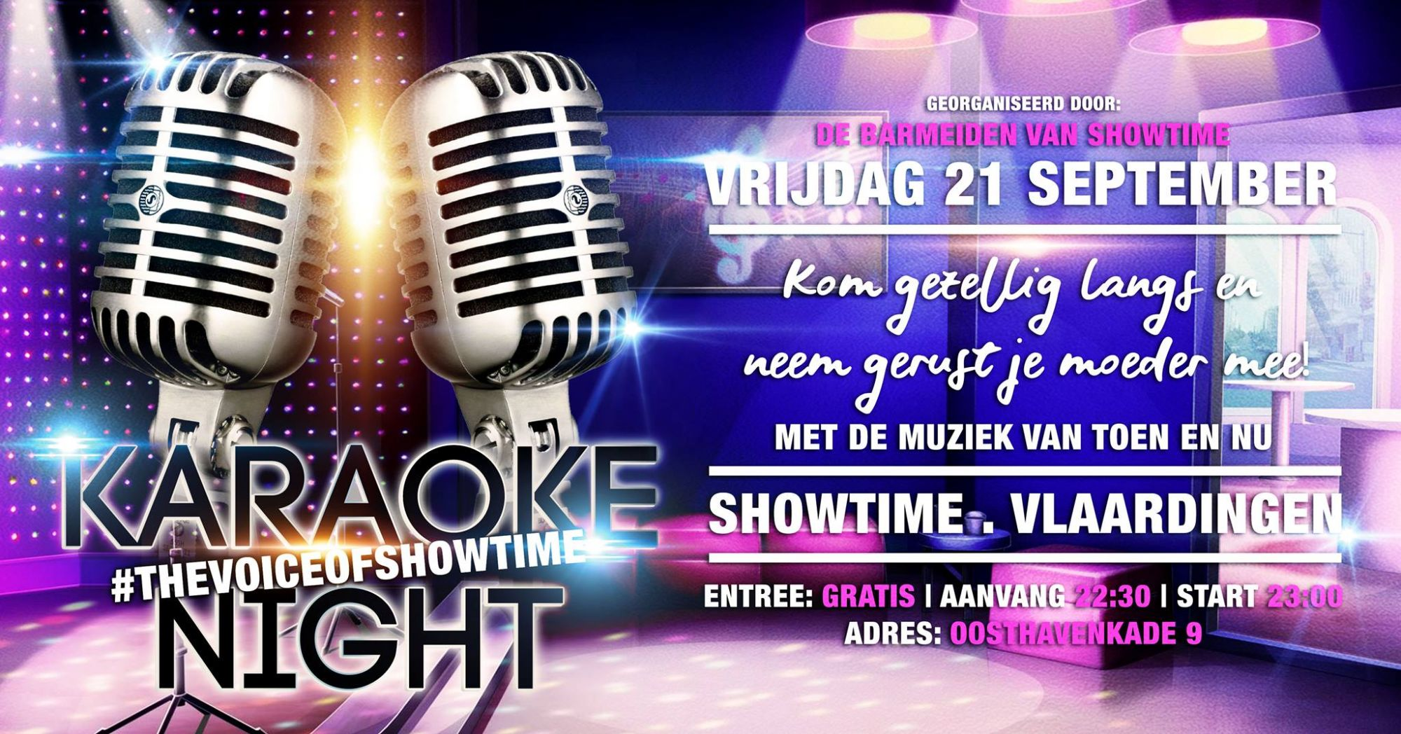 Karaoke Night in Showtime